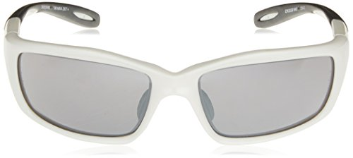 2d30ff20411 Crossfire 2243 Infinity Safety Glasses Silver Mirror Lens - Pearl White  Frame