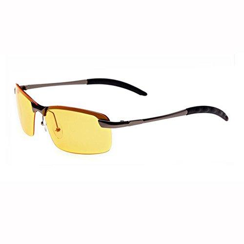 Sorprendida Manejar Movimiento Gafas De Hombres Mirada ZX 2 Sol Gafas 4 UV400 Metal De Polarizada Marco Luz Color Px6xq0wYf