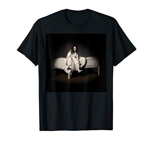 (Mens Billie Eilish Album Cover Photo T-Shirt)