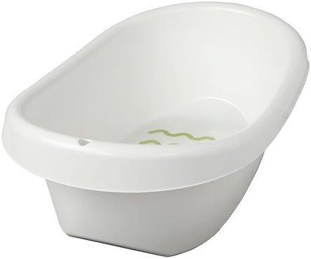 Vasche Da Bagno Piccole Ikea.Ikea Lattsam Vasca Da Bagno Per Bambini Con Protezione Antiscivolo Colore Bianco Amazon It Casa E Cucina