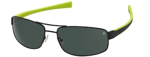 Tag Heuer LRS 0251 Sunglasses Matte Black / Black - Anise...