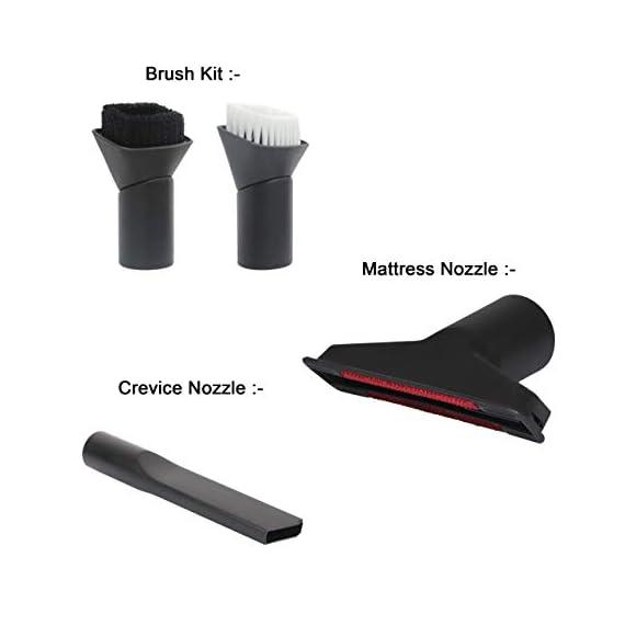 VMTC Furniture Vacuum Cleaner Accessory Kit - for Eureka Forbes, Hubertt etc 2