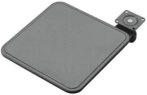 Hafele Tilt-N Swivel Mouse Pad, Black