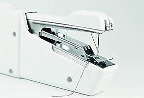 JOCCA Máquina de coser portátil de mano, Blanco, 2285: Amazon.es: Hogar