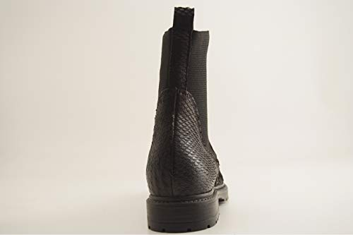 Noir Evelyn Boots Reqins Scale Eti Rqa5I