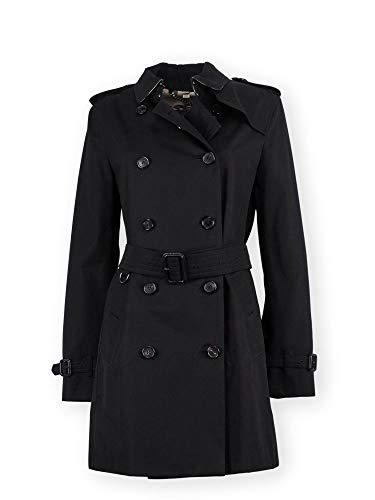 - BURBERRY Women's 3900459 Black Nylon Trench Coat