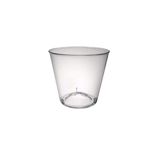 Party Essentials N15021 Hard Plastic Shot Glass, 1 oz. Capacity, Clear (50 Packs of 50) by Party Essentials