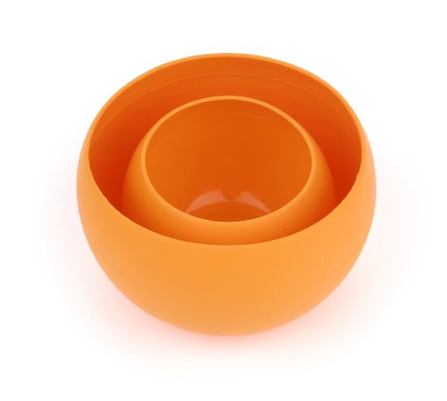 (Guyot Designs Squishy Bowl and Cup Set, Tangerine)