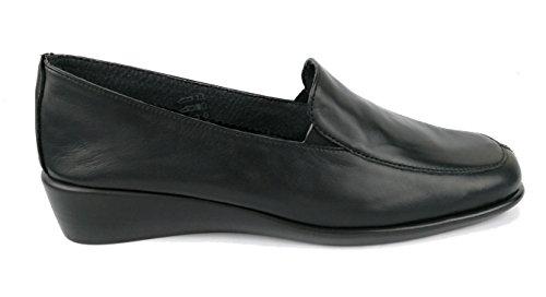 Cuir Femme Femme en Noir Confort pour Femme Chaussures Zerimar Chaussures Chaussures qn6E4Zqwp