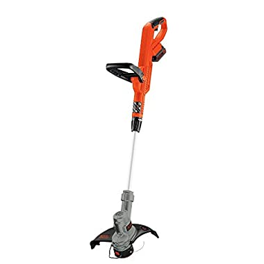 BLACK+DECKER LST300 12-Inch Lithium Trimmer / Edger, 20-volt