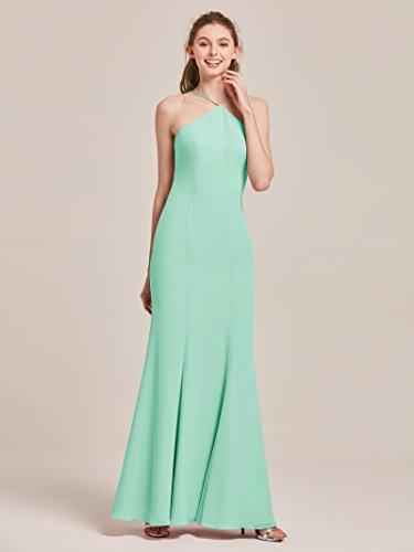 Dresses Womens Evening Gowns Formal Bridesmaid Green Mint Prom Alicepub for Mermaid xqnwSIpT