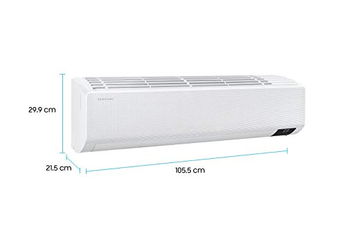 Samsung 1.5 Ton 3 Star Inverter Split AC (Copper AR18TY3CAWK White Plain) 2021 August Split AC with inverter compressor: Variable speed compressor which adjusts power depending on heat load. It is most energy efficient and has lowest-noise operation Suitable for medium sized rooms (111 to 150 sq ft) Energy Rating: 3 Star , ISEER Value: 3.98
