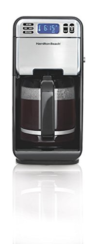 Morning 12 Cup Coffee Maker (Hamilton Beach (46205) Coffee Maker, Programmable with 12 Cup Capacity, Stainless Steel)