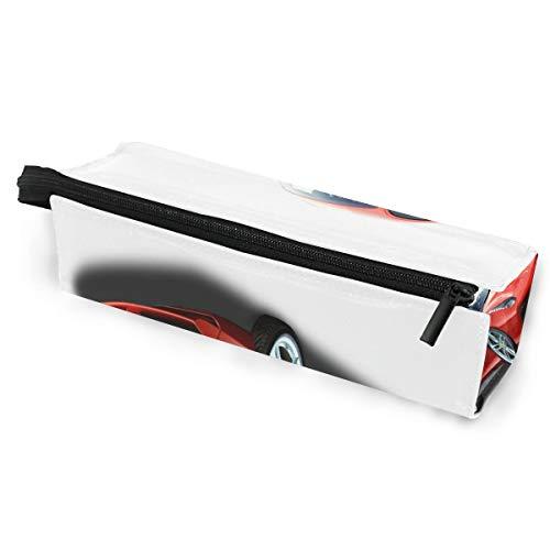 Ferrari Red Car Glasses Case Travel Soft Sunglasses Pen Bag Protective Pouch