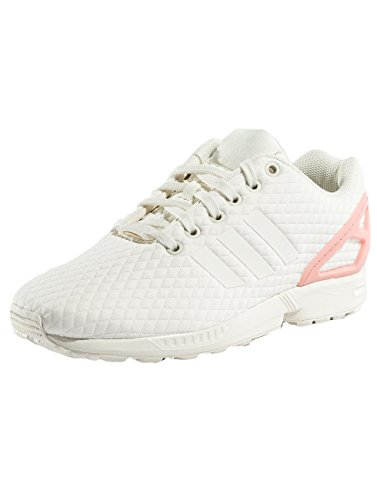 F17 Off Trace Pink adidas ZX Multicolore Off Vert Flux Basses Femme White W Baskets White EU nAnpzaZq