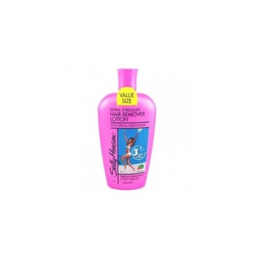 Sally Hansen Hair Remover 3 minute 10 oz. Bonus Rasberry/peach ()