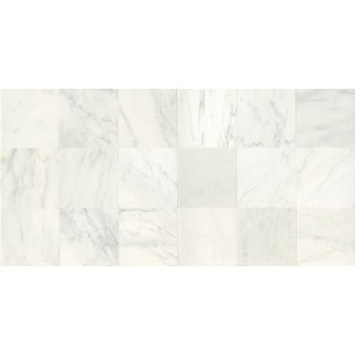 Dal-Tile M19018181U- Marble Tile, First Snow Elegance Honed -  Dal - Tile