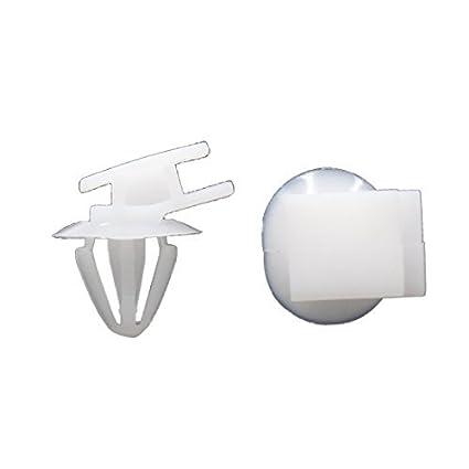 eDealMax 100 piezas DE 10 mm agujero 0,39 pulgadas de diámetro vehículo auto Dashboard