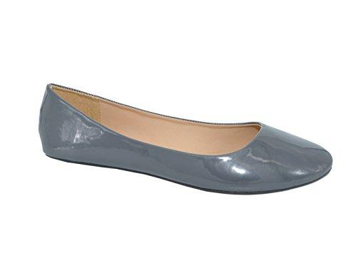 90696371502e P26 Womens Round Toe Ballerina Ballet Flats Shoes
