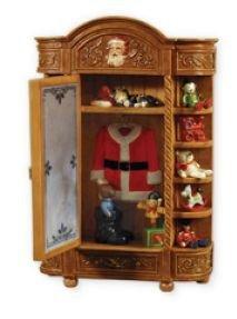 2010 Hallmark Santa's Armoire Ornament~ In-Store ARTIST S...