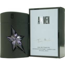 (Angel B Men By Thierry Mugler Edt Spray Rubber Bottle 1.7 Oz )