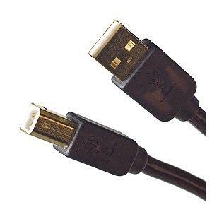 vshop® Cable USB 2.0 de 3 M A-B para impresora/escáner ...