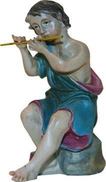 Miniatur Modell Figur Musiker sitzend, geeignet für 12cm Figuren Zisaline