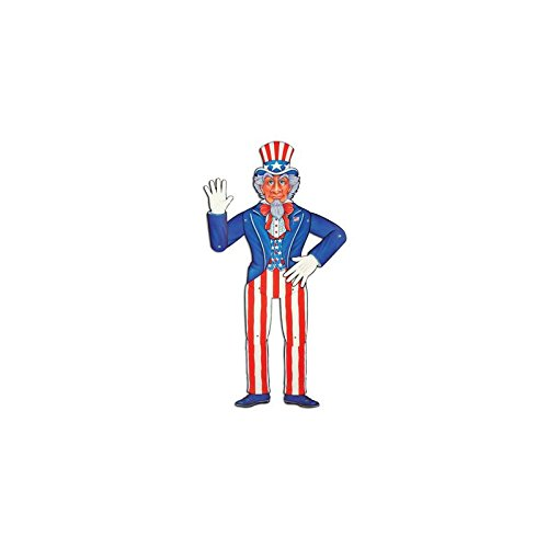 Jointed Uncle Sam Party Accessory (1 cou - Halloween Jointed Cut Outs Shopping Results