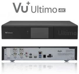 Vu Ultimo 4 K Pvr Ready Linux Receiver 2160p 1 X Fbc Elektronik