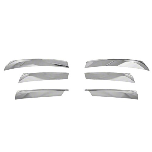 13-15 Nissan Altima 6 Piece Chrome Grill Overlay