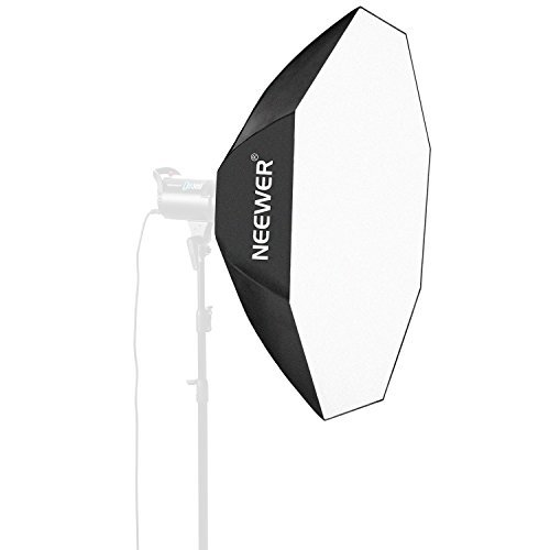 Neewer 30''x30''/80cmX80cm Octagon Umbrella Speedlite Softbox with Bowens Mount Speedring for Nikon, Canon, Sony, Pentax, Olympus, Panasonic Lumix, Neewer Speedring Flash and Other Small Strobe Flashes by Neewer