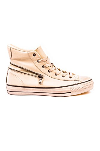 Converse Chuck Taylor John Varvatos Unisex Turtledove Leather Zip Hi Top 145367C (Men's 7.5/ Women's 9.5) by Converse