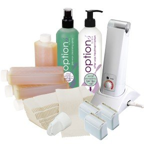 Hive Hand Held Roller Waxing Starter Kit Hive of Beauty HOB6015