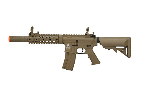 Lancer Tactical Airsoft M4 SD GEN 2 Polymer AEG - TAN