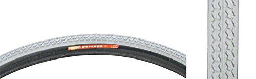 "Primo Gray 26 x 1"" Passage Wheelchair Tire Dark Skin # C-1195"