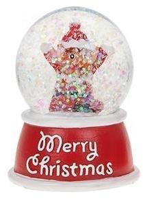 Buon Natale Glitter.Natale Glitter Snow Globe Buon Natale Elf Design Inside