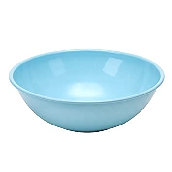 Red Pomegranate 9303-6 Collection Vento Serve Bowl Large Turquoise