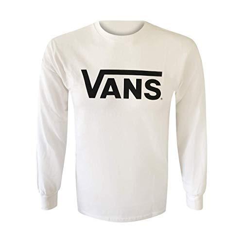 e Classic Logo T-Shirt Tee (White, Medium) ()