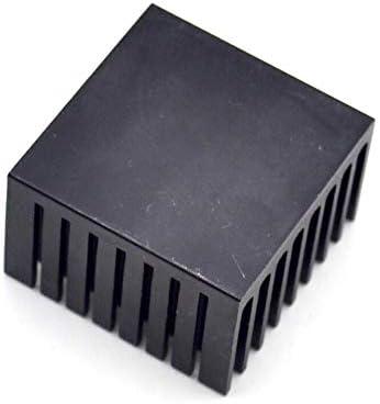 Rarido 1pcs Heat Sink 373724MM Radiator - Black Slot Blade Color: 5pcs lot