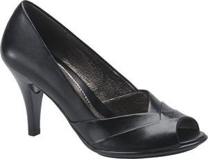Sofft Black Pumps (Sofft Womens Galilee Black Leather - 7.5 B(M))