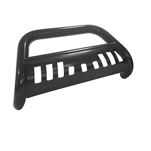 Mifeier Front Bumper Grill Guard Bull Bar Fit 07-14 Chevy GMC Cadillac C/S Black -