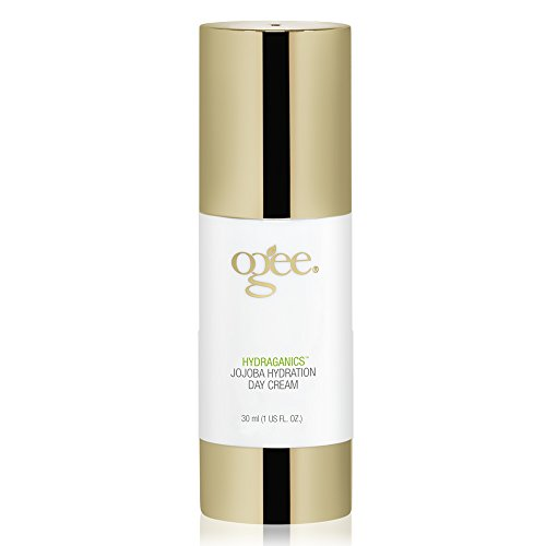 Ogee Jojoba Hydration Day Cream - Organic & Natural, Anti-Aging Face Moisturizer Lotion with Vitamin C, Hyaluronic Acid & Squalane (30ml)