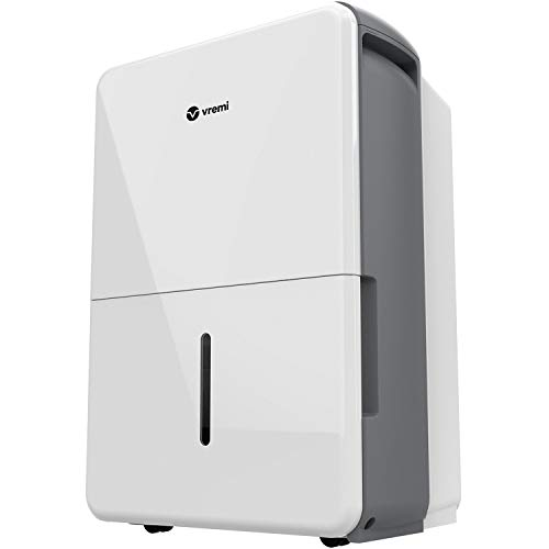 Vremi 1,500 Sq. Ft. Dehumidifier Energy Star Rated for Medium Spaces and Basements - Quietly Removes Moisture to Prevent Mold and Mildew