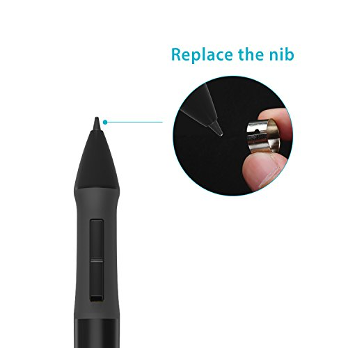 Huion Pressure Sensitive Digital Pen for Graphic Drawing Tablet - P68 (Black) by Huion (Image #4)