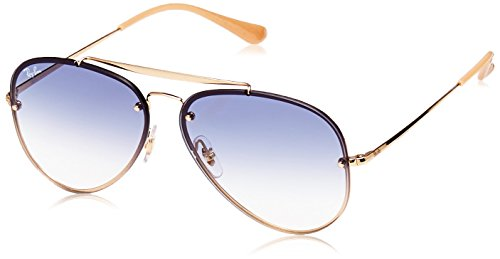 Ray-Ban 0rb3584n001/1961blaze Aviator Sunglasses, Gold, 61 mm by Ray-Ban