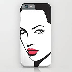 Society6 - Angelina Jolie iPhone 6 Case by Tamsinlucie