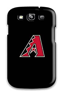 Anti-scratch And Shatterproof Arizona Diamondbacks Phone Case For Galaxy S3/ High Quality Tpu Case
