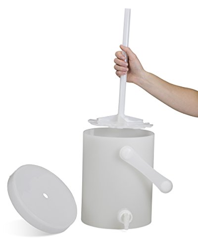 (Bel-Art Plastic Churn Sample Splitter; 8 Liter, 8½ in. D x 11 in. H (F37805-0008))