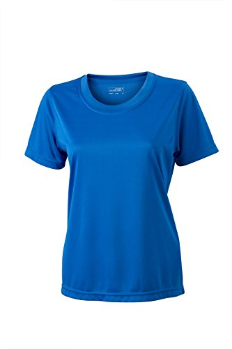 James & Nicholson - Camiseta - Manga corta - para mujer azul cobalto