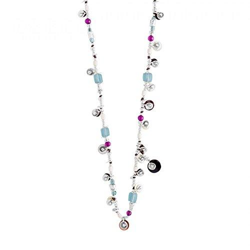 UNO DE 50 collier Esmeralda COL1138MCLMTL0U
